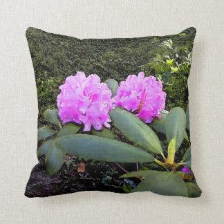 Rhododendrumsの水彩画 クッション