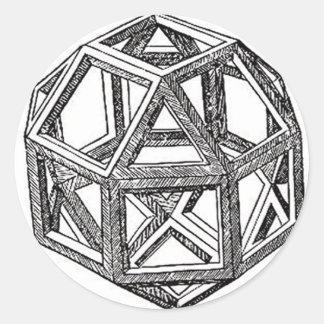 Rhombicuboctahedron、レオナルド・ダ・ヴィンチ ラウンドシール