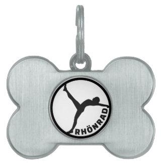 Rhönradのgymwheel ペットネームタグ