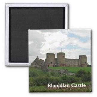 Rhuddlanの城の磁石 マグネット