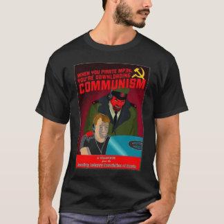 RIAAの共産主義 Tシャツ