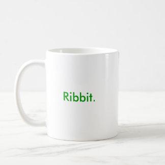 """""""Ribbit""""のエマ優美のマグ コーヒーマグカップ"""