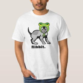 Ribbit LOLcatのワイシャツ Tシャツ