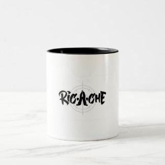 Ric-a-cheのロゴ ツートーンマグカップ