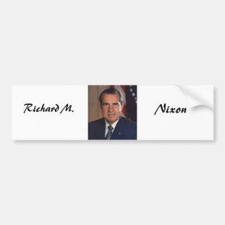 Richard M. Nixon 37 バンパーステッカー