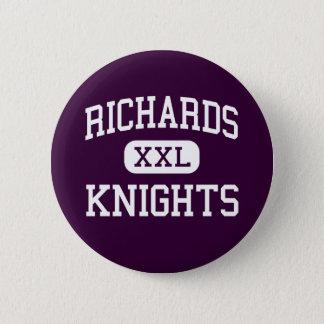 Richards -騎士-後輩- Fraserミシガン州 5.7cm 丸型バッジ