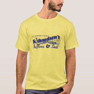 Richardsonsのマフラー及び石鹸水 Tシャツ