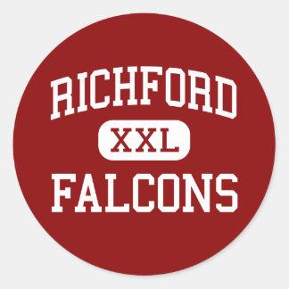 Richford - 《鳥》ハヤブサ-高Richfordヴァーモント ラウンドシール