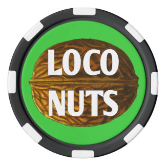 RichLocoの生きている気違いのくだらないポーカー用のチップ ポーカーチップ