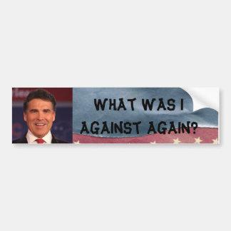 Rick Perryの反バンパーステッカー バンパーステッカー