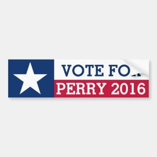 Rick Perryの2016年の選挙のテキサス州の旗のための投票 バンパーステッカー