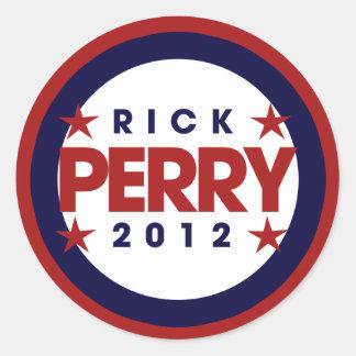 Rick Perry 2012年 ラウンドシール