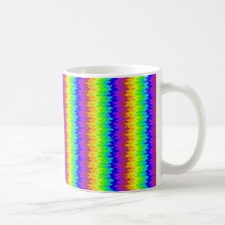 Rickrackのぼやけられた明るいマグ コーヒーマグカップ