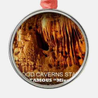RICKWOODの洞窟の州立公園-戦士、アラバマ メタルオーナメント