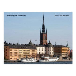 Riddarholmen、ストックホルムの写真… ポストカード