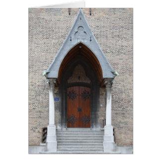 Ridderzaalの入口 カード