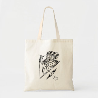 Ride in space tote bag cute character traveling トートバッグ