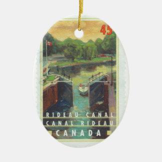 Rideau運河 セラミックオーナメント
