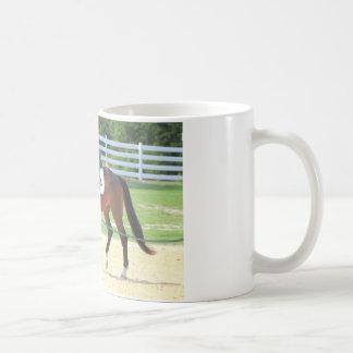 Riderless乗馬の馬 コーヒーマグカップ