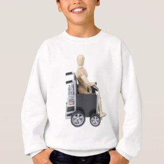 RidingElectricWheelchair スウェットシャツ