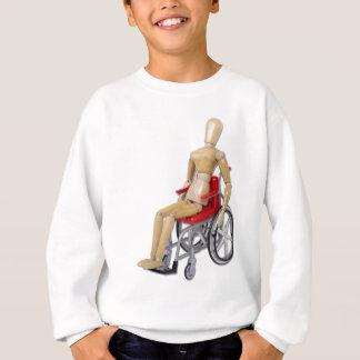RidingRedWheelchair スウェットシャツ