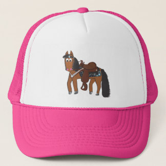 Rikiの西部の馬 キャップ