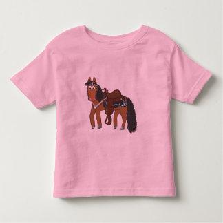 Rikiの西部の馬 トドラーTシャツ