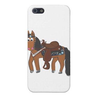 Rikiの西部の馬 iPhone 5 Case
