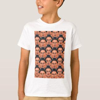 RIKISHI!! (相撲のレスリング選手) Tシャツ