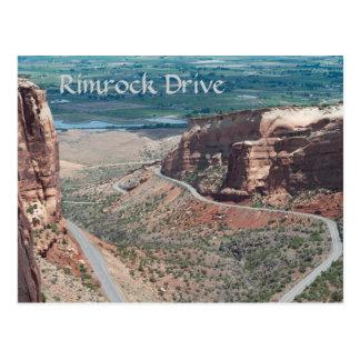 Rimrockドライブ ポストカード