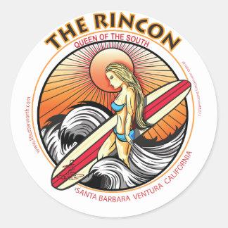 RINCONカリフォルニアのサーフィン ラウンドシール