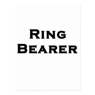ringbearerの男の子 ポストカード