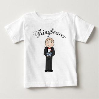 RingbearerはTシャツをからかいます ベビーTシャツ