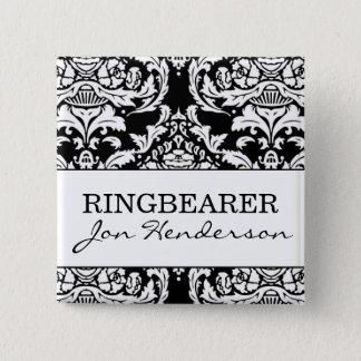 Ringbearerボタン 缶バッジ