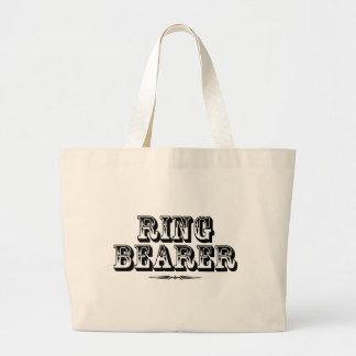 Ringbearer -古い西 ラージトートバッグ