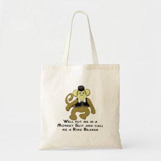 Ringbearer/猿 トートバッグ