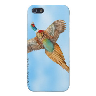 RingneckのキジのSpeckのカスタマイズ可能で飛んでいるな場合 iPhone 5 カバー