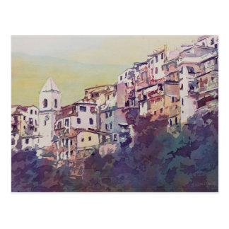 Riomaggioreの山腹 ポストカード