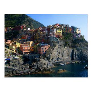 RiomaggioreのCinque Terreの郵便はがき ポストカード