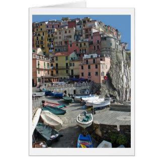 Riomaggioreイタリア ノートカード