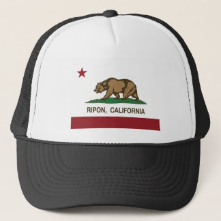 riponカリフォルニア州の旗 キャップ