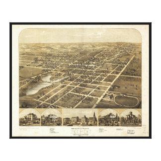 Ripon Fond Du Lac郡ウィスコンシン(1867年) キャンバスプリント