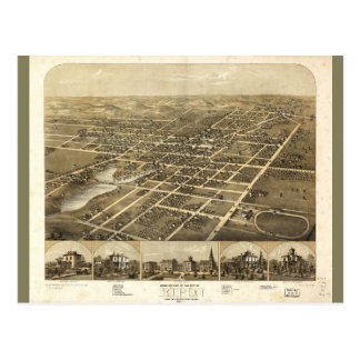 Ripon Fond Du Lac郡ウィスコンシン(1867年) ポストカード