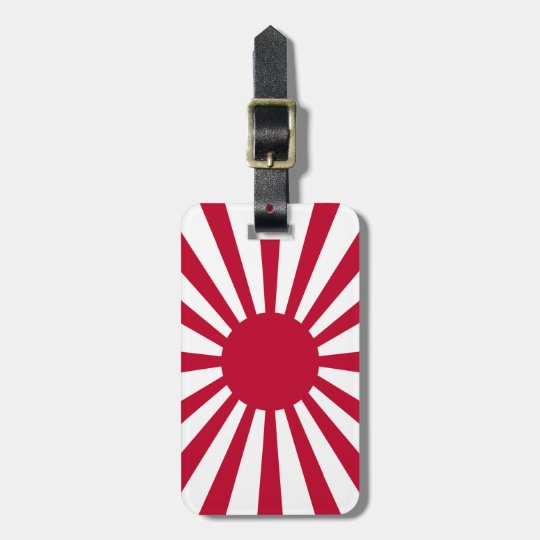 Rising Sun Flag ラゲッジタグ