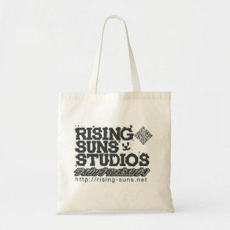 RisingsunsのスタジオJの黒 トートバッグ