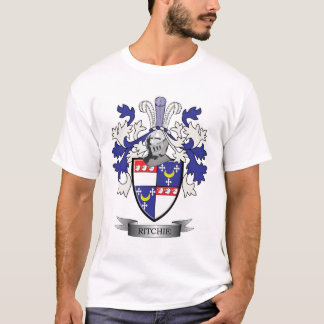 Ritchieの家紋の紋章付き外衣 Tシャツ