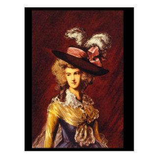 Ritratto',トマスGainsborough_Portraits ポストカード