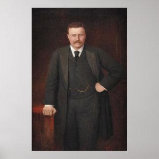 RitterフォンKrumhaar著セオドア・ルーズベルトのポートレート ポスター
