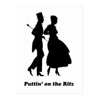 RitzのPuttin ポストカード