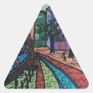 River TyneニューキャッスルのQuayside 三角形シール